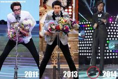 "Lee Kwang Soo + Microphones = Hilarity - Love his ""manner legs"", by the way. Korean Tv Shows, Korean Variety Shows, Korean Actors, Asian Actors, Running Man Funny, Running Man Korean, Leg Pictures, Best Funny Pictures, Lee Kwangsoo"