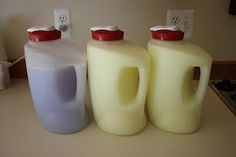 Building It On Pennies: Homemade Laundry Soap Even HE safe--look in comments for how to make it double strength and use only 1/4 cup of the mixture for HE machines