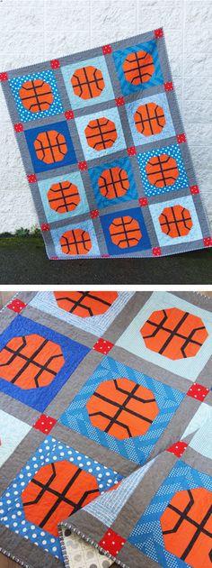 Slam Dunk Quilt Pattern