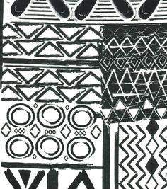 Snuggle Flannel Fabric Black White Global