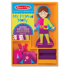 Personalized Magnetic Dress Up Play Set - My Friend Molly >>> This is an Amazon Affiliate link. You can get more details by clicking on the image.