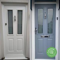 The Ludlow Composite Door. Benfleet Essex Upvc Windows, Sash Windows, Windows And Doors, External Cladding, Window Glazing, Window Replacement, Composite Door, Exterior Trim, Wall Cladding