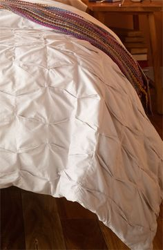 Nordstrom at Home 'Box Pleat' Duvet Cover available at #Nordstrom