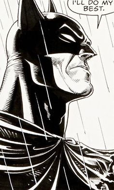 Batman: I'll do my best