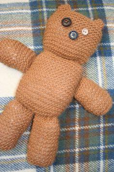 Button Eye Bear on Etsy, £25.00