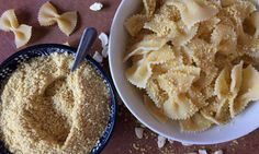 There's one sad truth about the vegan diet, and it has to do with pasta. Sure, vegans can enjoy pasta, but they can't do so with Parmesan cheese ― and breaking up this dynamic duo Vegan Parmesan Cheese, Vegetarian Cheese, Vegetarian Recipes, Healthy Recipes, Vegan Vegetarian, Yummy Snacks, Yummy Food, Healthy Food, Healthy Meals