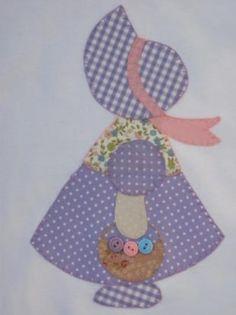 Resultado de imagen de patchwork muñecas sunbonnet