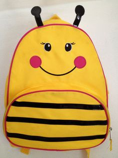 90s Bumblebee Backpack by thatVideoVAMPvintage on Etsy, $22.00