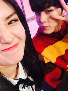 UP10TION Wooshin & IOI SOMI #IOI #SOMI #UP10TION #업텐션 #Wooshin #우신 #THESHOW #THESHOW韩秀榜