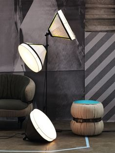 Drumbox Lights By Diesel With Foscarini + Poof!