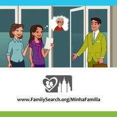 """O Livreto """"Minha Família Histórias Que nos Unem"""" e o Dia das Mães — Registre as histórias, fotos e recordações de sua mãe e avós, então, utilize o recurso de preenchimento online para carregar os dados do livreto para a árvore. Comemorando as famílias por gerações. Acesse www.FamilySearch.org/MinhaFamilia #familysearch #historiadafamilia"""