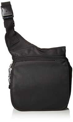 Everest Messenger Bag - Large, Black, One Size