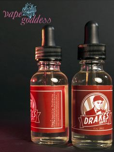 Drake's Vapes Vanilla Trifecta E-liquid