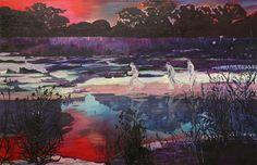 """Saatchi Online Artist Alice Brasser; Painting, """"Run"""" #art"""