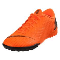 online store f06e1 62b3b Sale Nike Mercurial Vapor X XII Academy TF Artificial Turf Soccer Shoe -  Total Orange-White-Total Orange-Volt