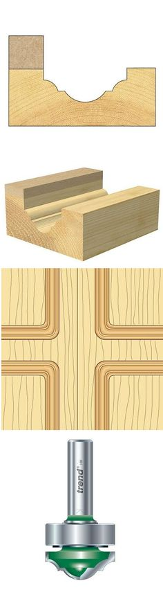 Ideal for following template. It is advisable that the template is at least 5mm thicker than the cut length of the tool. Ideal for following template. It is advisable that the template is at least 5mm thicker than the cut length of the tool.   #Bearing #guided #classic #panel 6.3mm radius.....  http://www.woodfordtooling.com/craftpro-router-cutters/ogee-panel-cutters/shank-mounted-bearing-guided-classic-decor/bearing-guided-classic-panel-6-3mm-radius.html
