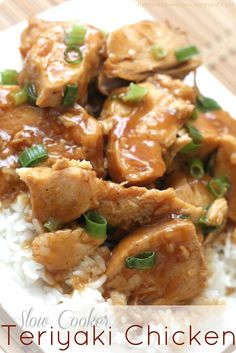 Slow Cooker Teriyaki Chicken Recipe - (therecipecritic)