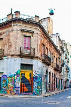 Graffitis en San Telmo