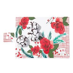 Whimsical rose and checkered rectangle serving board with handle. x x Porcelain CAREHand wash.Imported from ChinaWhile supplies last. Holiday Gift Guide, Holiday Gifts, Avon Party Ideas, Avon Outlet, Avon Online, Serving Board, Last Minute Gifts, Customized Gifts, Bath And Body
