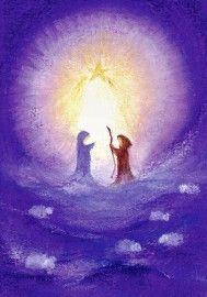 K1003 Jozef & Maria in het licht van de ster