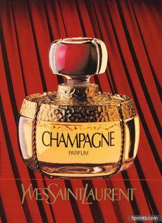 Yves Saint-Laurent (Perfumes) 1994 Champagne