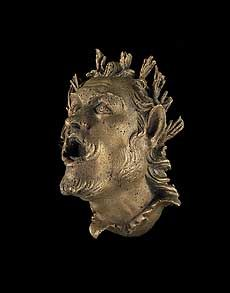Dr Monica M. Jackson: MEDEA'S MAGIC: THE GOLD OF ANCIENT VANI Bronze applique of Pan, 2nd cent. B.C.