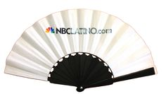 NBC latino hand fan 2012 by partyflops.com