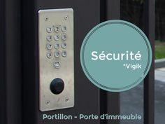 La résidence La Chapelle à #Marseille est protégée par un portail, un portillon et une porte d'entrée d'immeuble. Deux d'entre eux sont équipés d'un système de sécurité Vigik.
