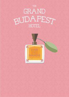 The Grand Budapest Hotel alternative movie poster by DonVinzone