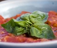 Thumbnail image for Pappa al Pomodoro ~ Tuscan Tomato, Bread and Herb Soup