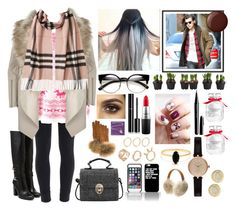 """""""Untitled #1017"""" by jem0kingston ❤ liked on Polyvore featuring Wet Seal, Paige Denim, River Island, UGG Australia, FRR, Burberry, Barbour, Bing Bang, Michael Kors and Chanel"""