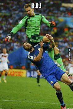 K.O. Germany win