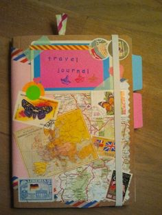 DIY: make a personal travel journal (1).