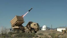 lancio di missili Brimstone da piattaforma HIMARS