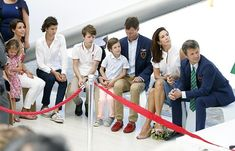 Princess Mary and Prince Frederik of Denmark have touched down in Rio for the Olympics. The pair have already attended a number of official events and on Tuesday, opened the Danish Pavilion. Crown Princess Mary, Prince And Princess, Princess Diana, Danish Prince, Prince Felix, Le Clan, Prince Frederick, Princess Marie Of Denmark, Queen Margrethe Ii
