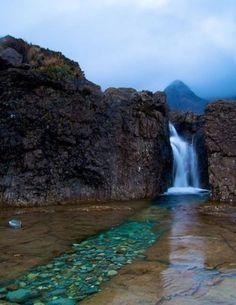 Estanques de las hadas, Isla de Skye, Escocia