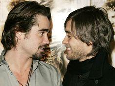 """Alexander"" co-stars, Colin Farrell and Jared Leto."