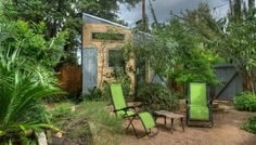 Hip East Side Tiny Pad in Austin, TX | Tiny House Vacations