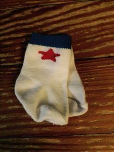 Red star socks
