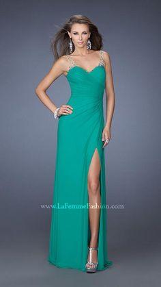 La Femme 19660   La Femme Fashion 2014 - La Femme Prom Dresses - La Femme Cocktail Dresses