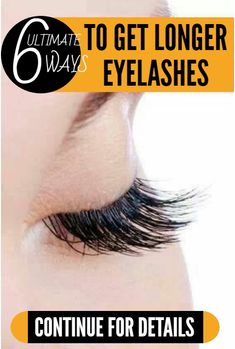 Longer eyelashes can drastically improve your beauty. If you want longer eyelashes than the one's you have, these simple ways can get you there! Castor Oil: The powerful follicle-stimulating and nourishing castor oil can help you enjoy lustrous and voluminous lashes. It also helps fight micro-organisms that hamper growth. Use a clean brush or a …
