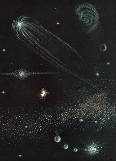Theres something wonderful about Marvin Bilecks minimal illustrations for All About the Stars.