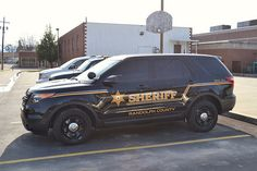 Randolph County, WV Sheriff's Department Slicktop Ford Explorer Patrol Car