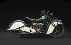 Sensuous Steel: Art Deco Motocycle; 1940 Indian Chief - Frist Center for the Visual Arts