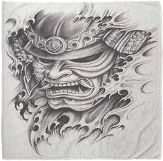 Yakuza Tattoo, Hanya Tattoo, Body Art Tattoos, Tattoo Drawings, Sleeve Tattoos, Thumb Tattoos, Hannya Mask Tattoo, Chest Tattoo, Tattoo Ideas