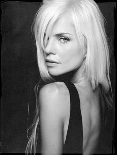 Black and White Beauty Fashion Portrait by David Benoliel Photography