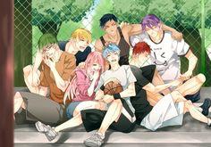 1800x1260 - kise ryouta, kuroko tetsuya, momoi satsuki, kagami taiga, kuroko no basket # original resolution