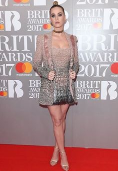 Katy Perry Brit Awards 2017