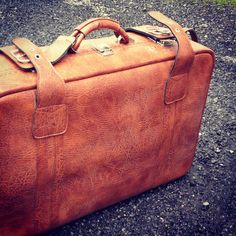 Leather suitcase I bought for £3...