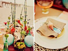 Beach Wedding Ideas {Styled Shoot} — Celebrations at Home